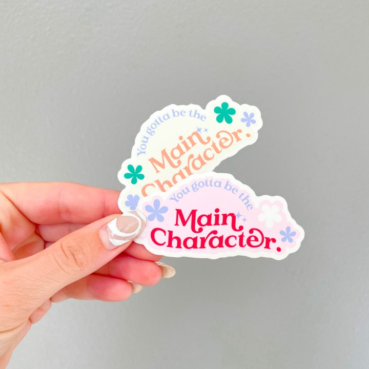 Image of Main Character Stickers