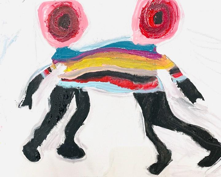 Image of Attachment art Print